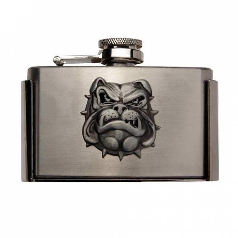 boucle ceinture flasque bulldog - contenance 88ml 63ffe2ea53d